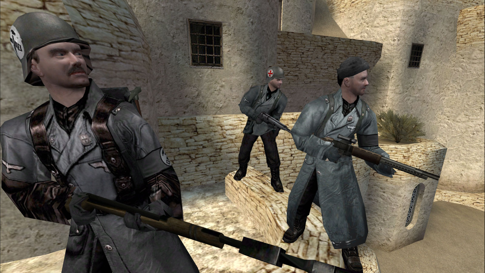 wolfenstein enemy territory barracks gratuit